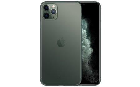 Apple iPhone 11 Pro Max 64 GB Nachtgrün MWHH2ZD/A